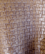 Alassio (Small Rectangular textured Fabric) - Sattel (Light Brown)