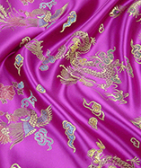 Chinese Dragon Brocade - Fuschia