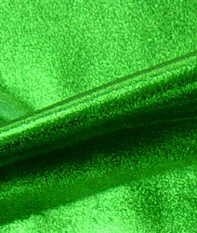 Metallic Elastane - Emerald
