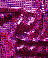 Square Sequins Hologram-1124 - Cerise