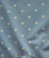 PVC Coated Full Stop Polka Dots - Indigo