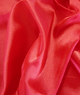 Fire Retardant Display Satin (270cm wide) - Red