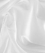 Fire Retardant Display Satin (270cm wide) - White