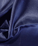 Fire Retardant Display Satin (270cm wide) - Navy