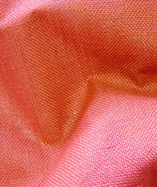 Hessian Fabric Laminated - Burnt Orange