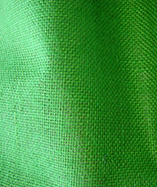 Hessian Fabric Laminated - Emerald