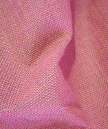 Hessian Fabric Laminated - Pink