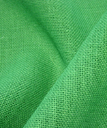 Hessian Fabric - To Clear - Emerald