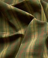 Tartan Fabric - Yarn Dyed - Brown (03)