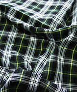 Tartan Fabric - Yarn Dyed - Green (06)