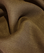 Hessian fabric fire retardant - Chocolate
