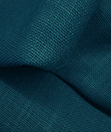 Hessian Fabric - To Clear - New Aqua