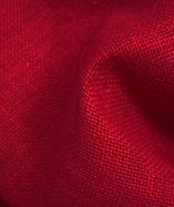 Hessian Fabric - To Clear - New Red