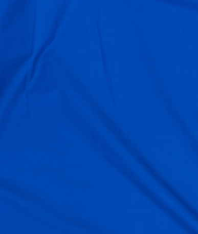 Poly Cotton Fabric - Royal