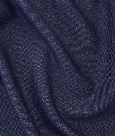 Polyester Denim  - Navy