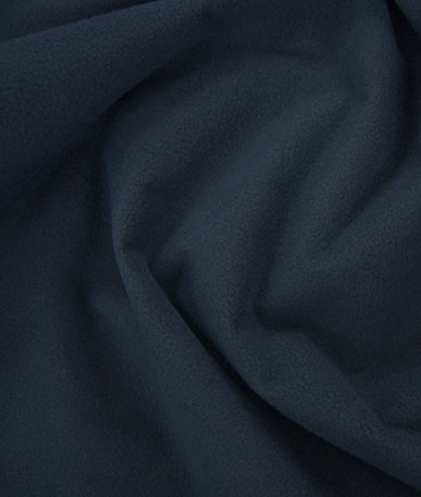 Waterproof Fleece  - Navy/Blue Backing
