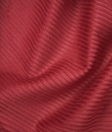 Corduroy Fabric - Red