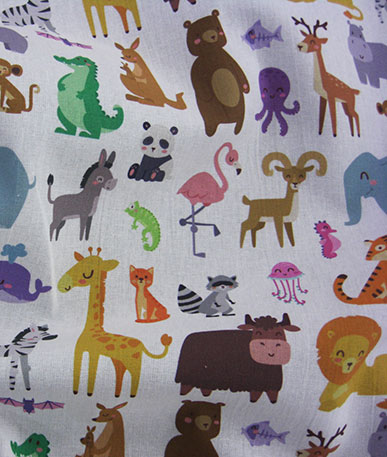 New Novelty Prints - Zoo