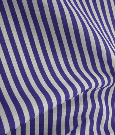 1cm Stripes on Cotton(to clear) - Purple