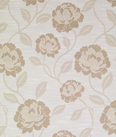 Delight Curtain Fabric  - Biscuit