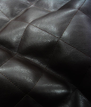 Quilted Clothing Vinyl - Brown
