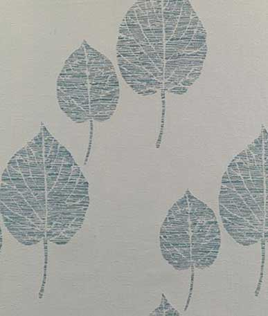 Tranquil Curtain Fabric - Duck Egg (B)