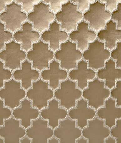 Bouchra Curtain Fabric - Shell