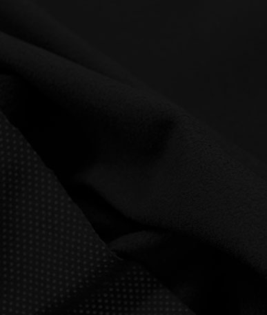 Waterproof Breathable Micro Fleece - Black