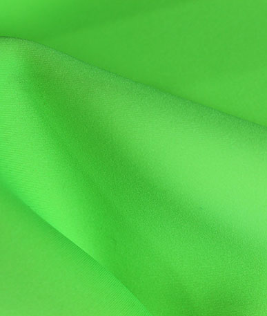 Neoprene Water Resistant Fabric - Fluo Green