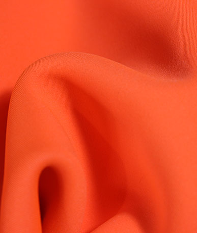Neoprene Water Resistant Fabric - Fluo Orange