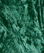 Crushed Velvet Plain Dyed - Bottle Green