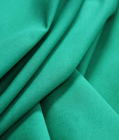 100% Cotton Scrubs Fabric - Aqua