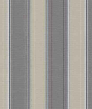 Boston Horizontal Stripe Awning Fabric - Grey(D316)