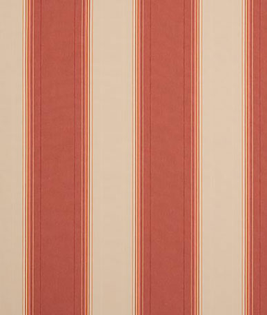 Boston Horizontal Stripe Awning Fabric - Red(D317)