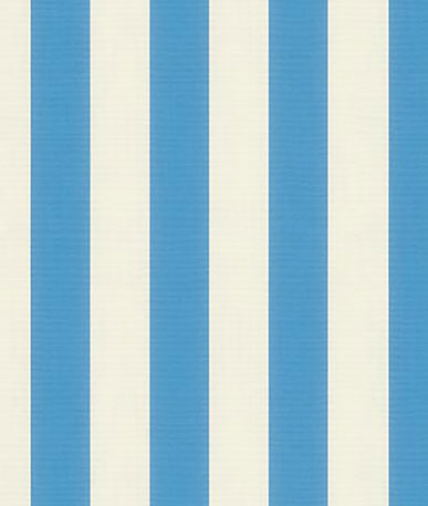 Awning Fabric Block Stripe - Azur (C031)