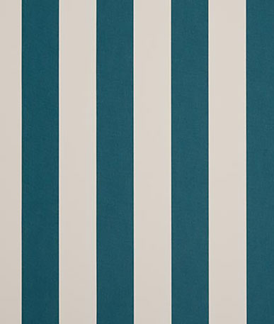 Awning Fabric Block Stripe - Canard/Chine (C033)