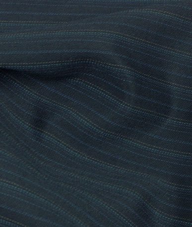 Polyester Wool Mix Suiting 2 - Subtle Pinstripe