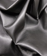 Clothing Leatherette Fabric - Black