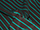 Fabric Color: Black - Emerald Stripe