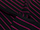 Fabric Color: Black - Pink Stripe