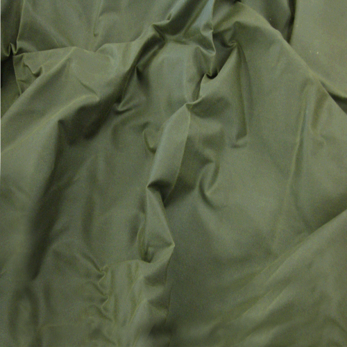 Waxed cotton fabric