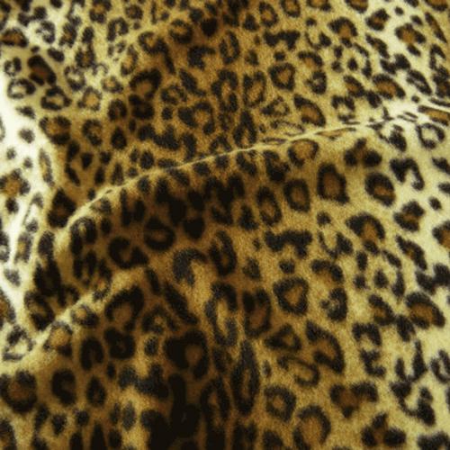 Animal Print Fleece Fabric Uk