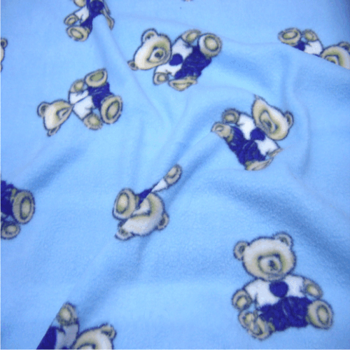kids prints on fleece fabric uk