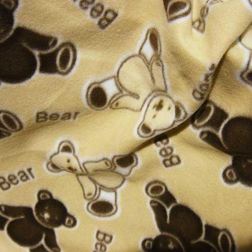 Teddy Bear Fleece Fabric Uk