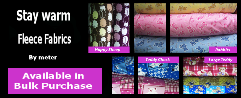 Fleece Fabrics - Plain Dyed