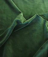 Cotton Velvet - Bottle Green (1)