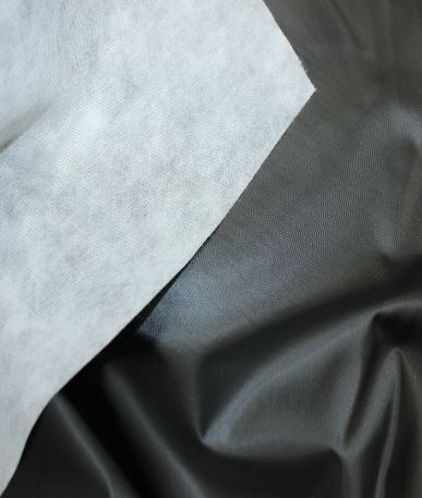 Car Cover Foil Fabric - Black/white