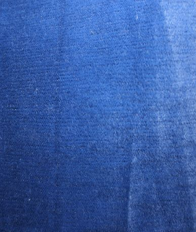 Plush Grain Upholstery - Electric blue