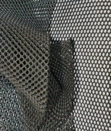 3D Spacer Mesh Fabric - Anthracite