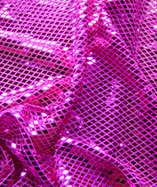 Diamond Sequin Fabric - Cerise (2)